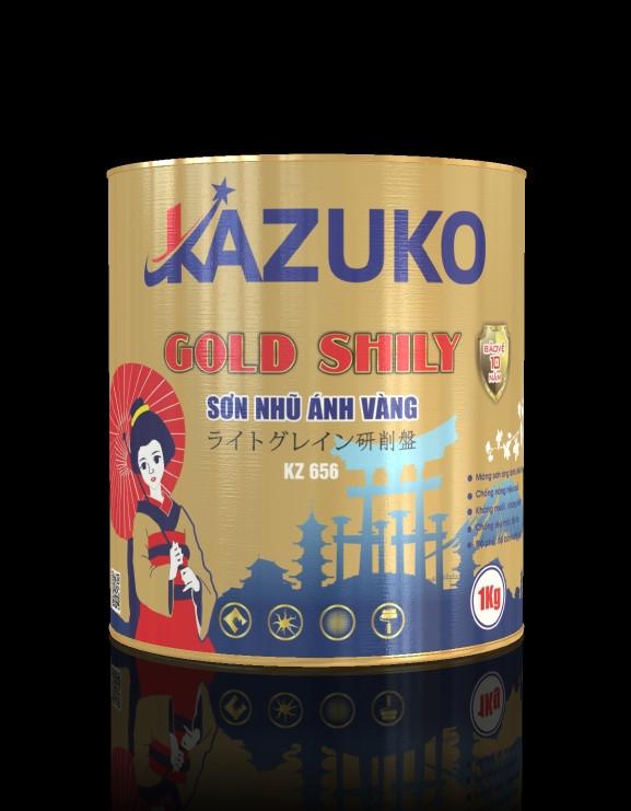 Sơn nhũ ánh vàng Kazuko