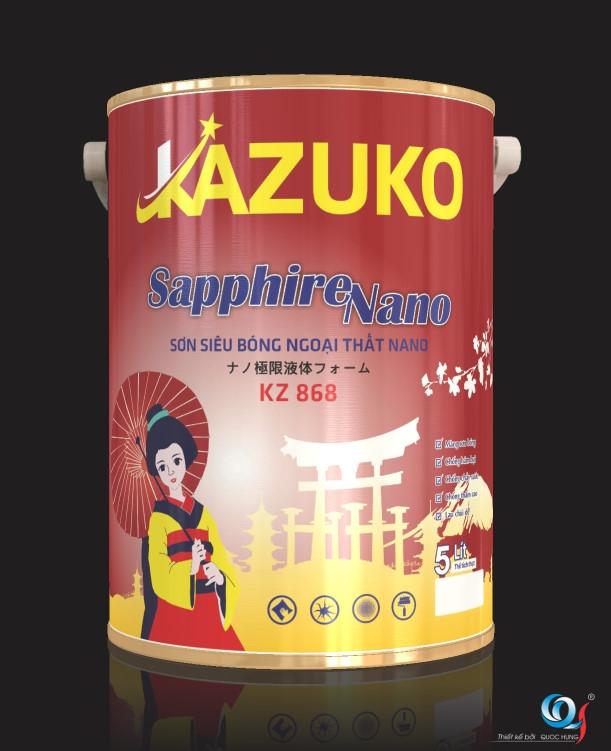 Sơn Kazuko Sapphire Nano