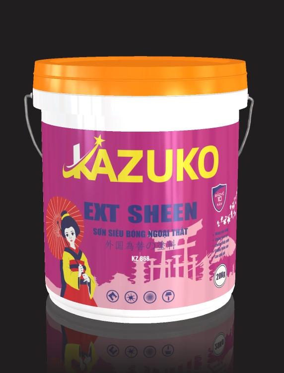 Sơn siêu bóng ngoại thất Kazuko