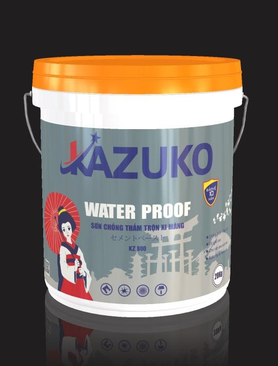 Sơn chống thấm trộn Xi măng Kazuko