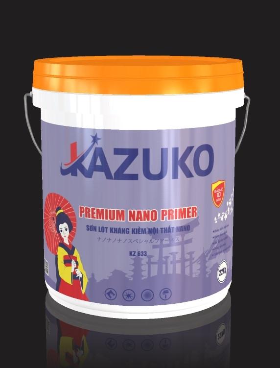 Sơn lót kiềm nội thất nano Kazuko