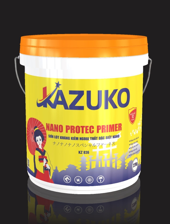 Sơn lót ngoại thất đặc biệt nano Kazuko
